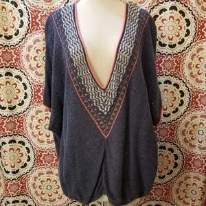 Free People S/S Knit Sweater